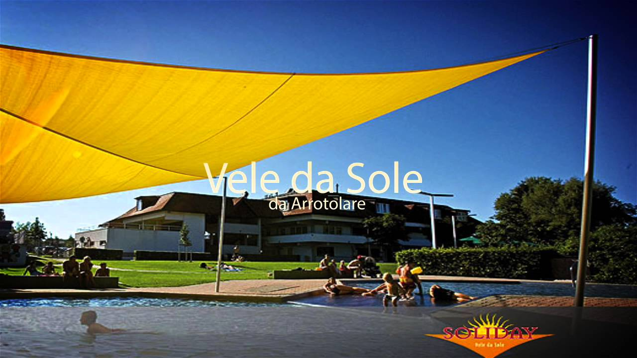 Tenda A Vela Quadrata : Tende da sole a vela a imperia tendeecompany youtube