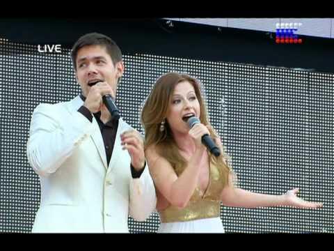 Стас Пьеха и Юля Савичева - Олимпиада-80
