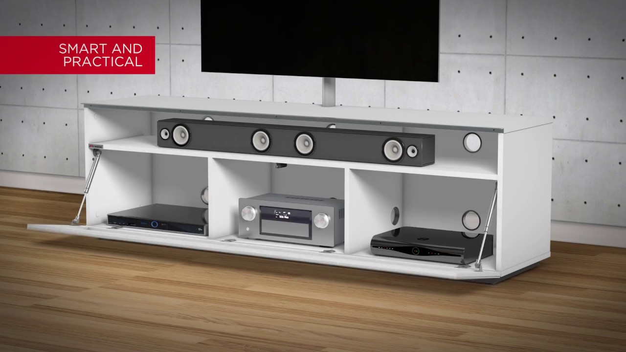 Porta Tv Ghost Meliconi.Mytv Stand Meliconi English Youtube