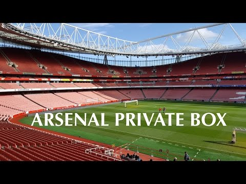 Arsenal Private VIP Box Match day Experience
