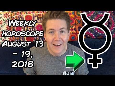 Weekly Horoscope for August 13 - 19, 2018 | Gregory Scott Astrology