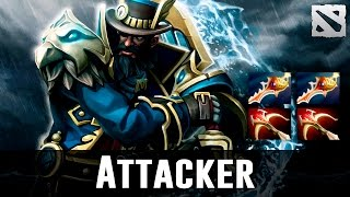 Attacker Kunkka Gameplay Dota 2