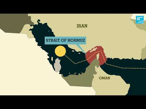 What is happening in the Strait of Hormuz?