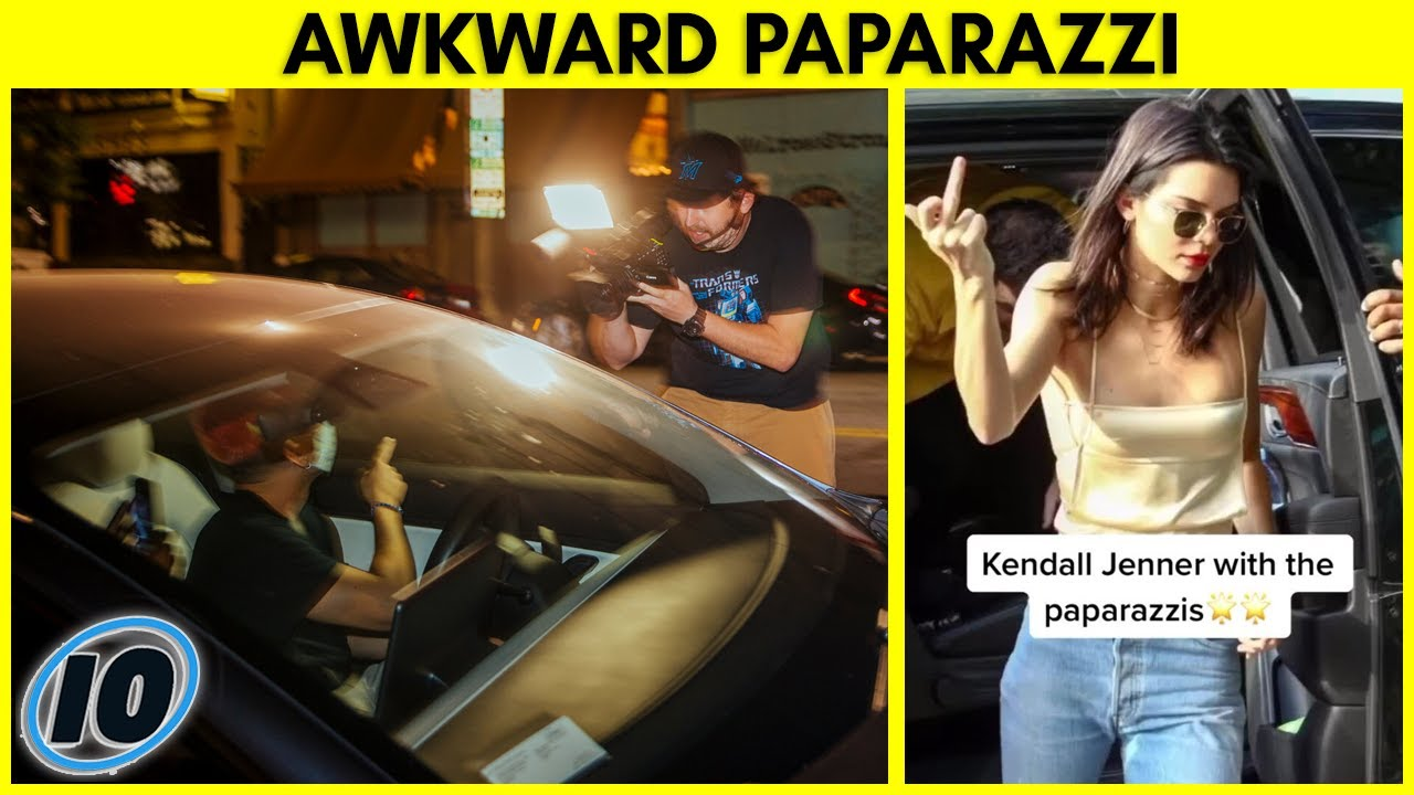 Top 10 Most Awkward Influencer Paparazzi Interactions