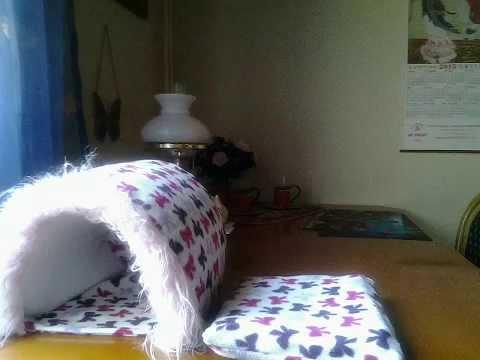 kuschelh hle selber machen youtube. Black Bedroom Furniture Sets. Home Design Ideas