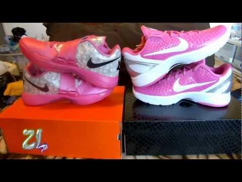 Nike Zoom KD 4 Aunt Pearl Kobe 6 Kay