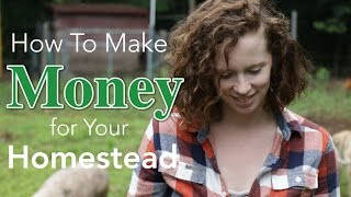 How to Make Money for Your Homestead