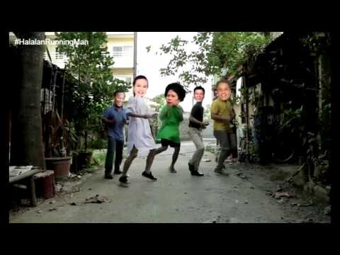 Duterte Dancing Budots with 4 candidates
