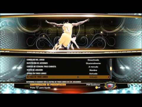 NBA 2K13 MI JUGADOR   TUTORIAL CONFIGURACION