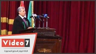 جابر نصار: كلية الحقوق ميزان المجتمع وأساسه