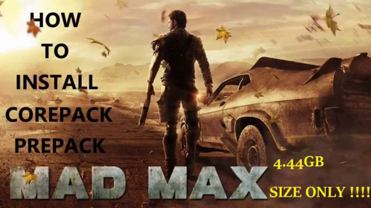 How to install Madmax pc corepack repack - Full guide #1
