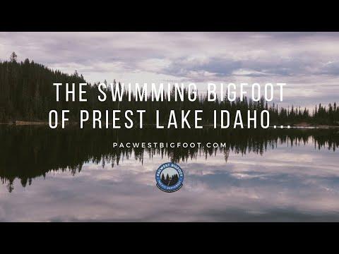 The Swimming Bigfoot Of Priest Lake Idaho...