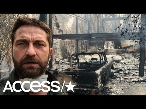 Gerard Butler, Robin Thicke & More Stars Lose Their Homes In California Fires