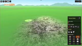 OneRay-RT Texture Addition to Terrain
