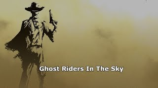 Johnny Cash - Ghost Riders In The Sky Legendado Tradução