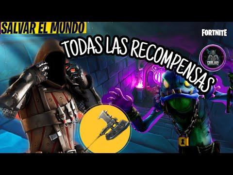 MAZMORRAS,TODAS LAS RECOMPENSAS, ARMAS HEROES MUSICA |FORTNITE SALVAR EL MUNDO|