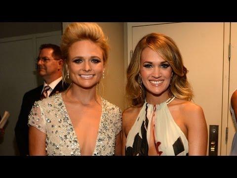 Carrie Underwood & Miranda Lambert On Red Carpet CMT Music Awards 2014