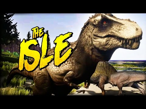 SPINOSAURUS AT THE DINOSAUR PARTY | The Isle