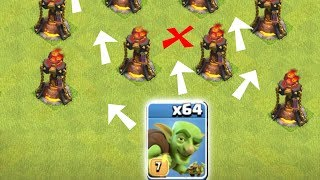 "RUN don't WALk to Victory!! ""Clash Of Clans"" Goblin FUN Raids!!!"