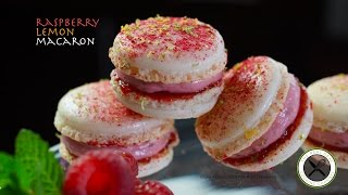 raspberry lemon macaron – bruno albouze – the real deal