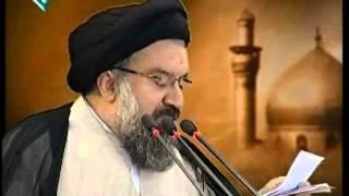 Ayatollah khatami attack leaders of  pro election riots in Tehran friday prayer