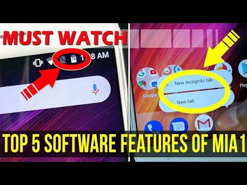 Xiaomi Mi A1 Tips & Tricks | TOP 5 FEATURES IN 5 MINUTES