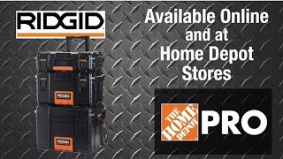 Ridgid Pro Mobile Tool Box System - The Home Depot