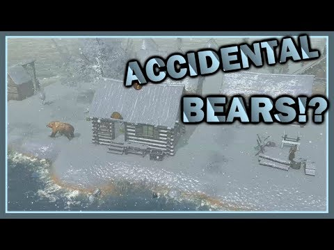 Life is Feudal Forest Village - Accidental Bears! - #3 Let's Play Forest Village