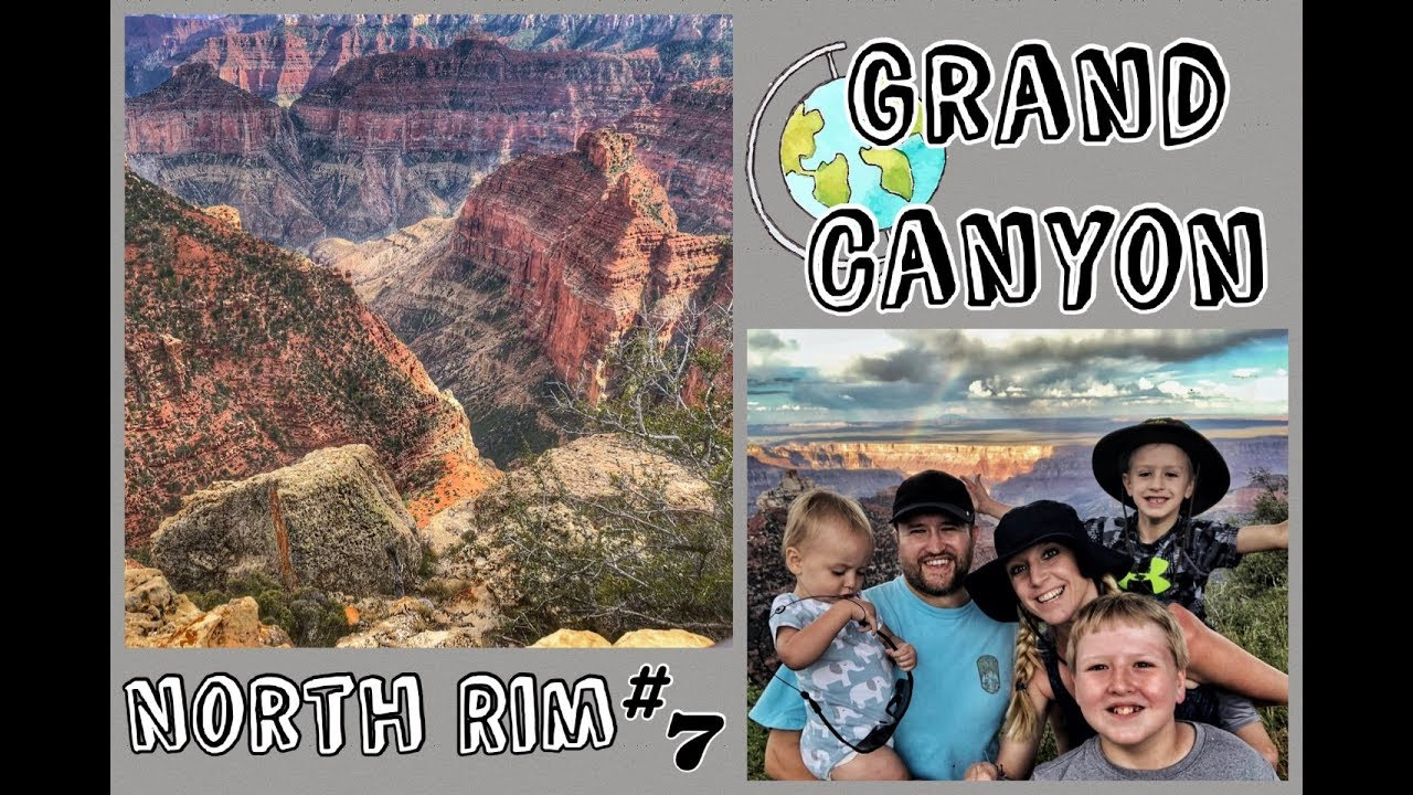 Family Road Trip: Grand Canyon National Park - North Rim // Arizona, Episode 7