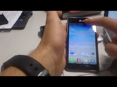 How to unlock LG optimus P700 L7 by code