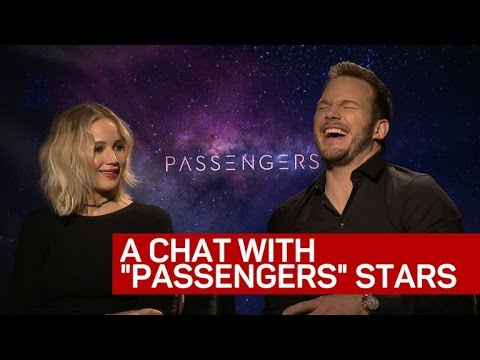 'Passengers' stars chat about future space travel, tech