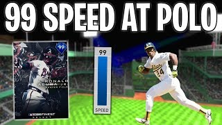 FASTEST PLAYERS ONLY! POLO GROUNDS INSIDE THE PARKER! MLB The Show 19 Battle Royale Draft & Gameplay