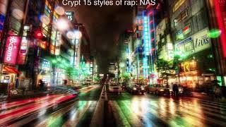 Crypt 15 rap styles: NAS