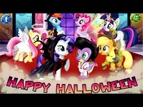 My Little Pony Halloween Party 2017- My Little Pony Games