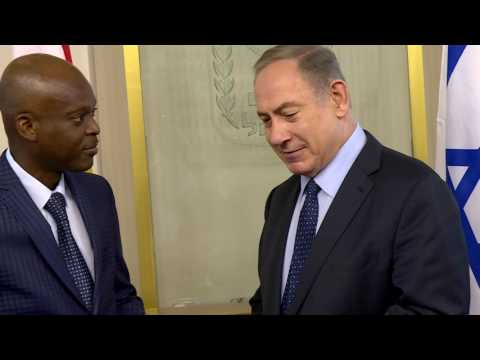 PM Netanyahu Meets FM of Togo Robert Dussey