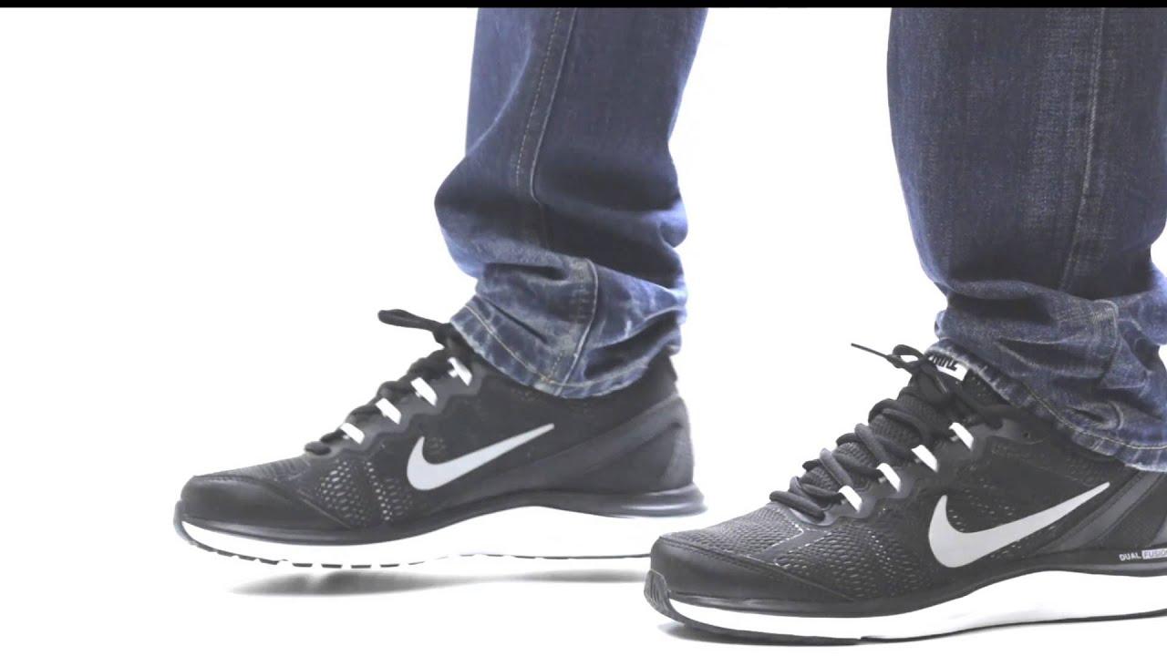 Nike Dual Fusion Run 3 Running Shoes on feet - YouTube