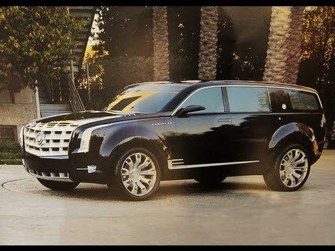 Cadillac escalade concept