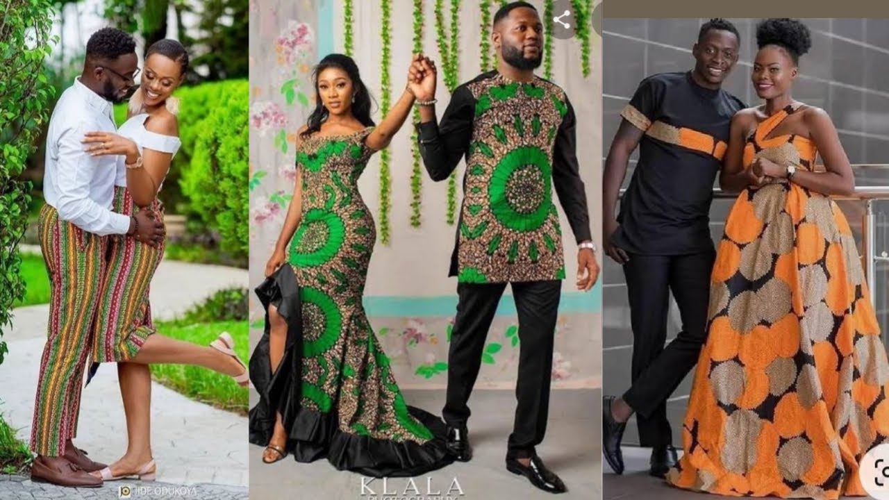 Latest Couple Ankara Styles | Couples Matching Outfits | African Fashion 2021