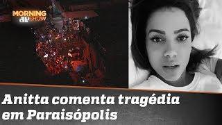 """Anitta sobre mortes em Paraisópolis: """"Poderia ter sido eu"""""""
