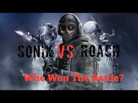 Call Of Duty 4 Modern Warfare [Roach Vs Sonix] TeamDeath Match Who Won The Battle?