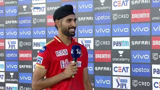 Harpreet Brar - Man of the Match | #PBKSvRCB | IPL 2021