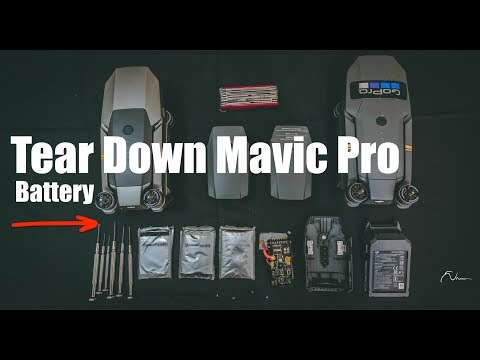 Break down DJI Mavic Pro / Platinum Battery