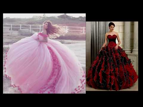 Floral Gown Dresses || Barbie Gowns || Doll Gowns || Gown Dresses