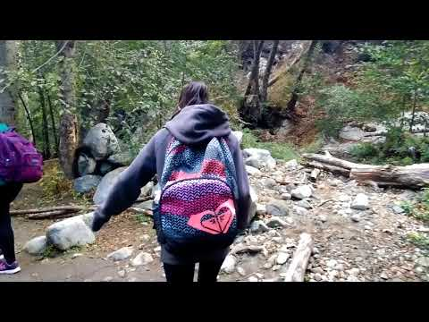 Sunday hike at Switzer Falls Trailhead in the Angeles National Forest