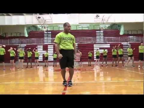 Beyonce - Move Your Body | Panthers Jump Rope Team (English)