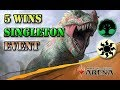 Singleton Deck Tech 5 Wins - MTG Arena Event