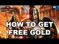 Game of War: Fire Age - How To Get Free Gold