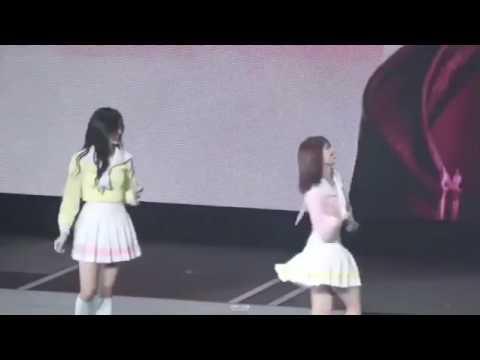 170619 (트와이스) Momo and Mina dance Greedy @TWICELANDENCORE
