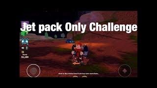 Jetpack nur Herausforderung Roblox JailBreak!!!!