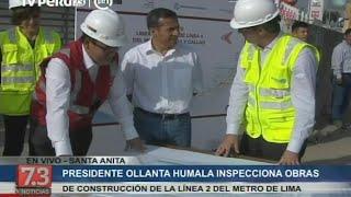 Así van las obras en el primer tramo de la Línea 2 del Metro de Lima